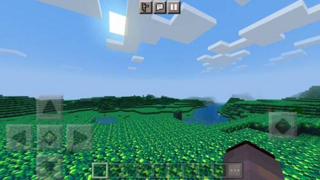 Игрок путешествует по новым биомам 2